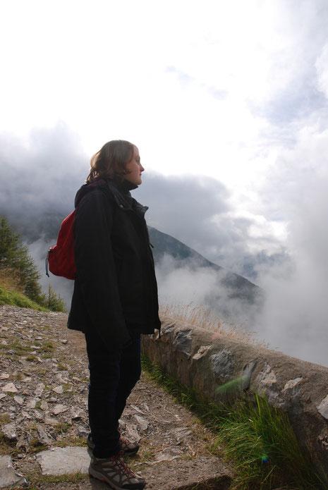 Laurène à La Salette (août 2014)