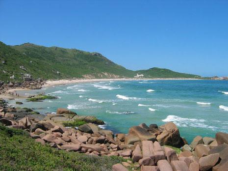 Praia de Galheta - vacances naturistes monde