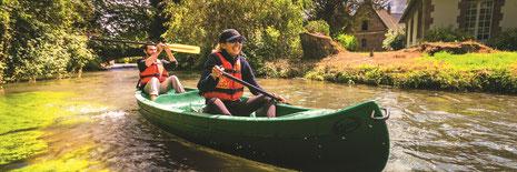 Canoë-kayak en Normandie : activités à 2 en Normandie