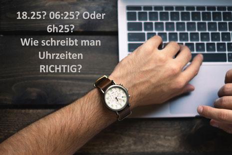Wie schreibt man es richtig? Die Zeit wird es zeigen - Hauptsache, konsistent ... oder Martens PR fragen. Foto: by Brad Neathery on Unsplash