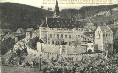 Das Schloss Alte Ansichten Und Korrespondenz Aus Dem Odenwald Wir