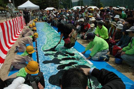 2007.5.18長野県植樹祭 南木曽町