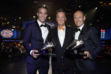 Arjen Robben en Robin van Persie ontvangen Oeuvreprijs  Fotocredit:  René Bouwman
