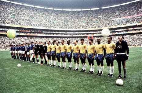 決勝戦:ブラジル vs イタリア