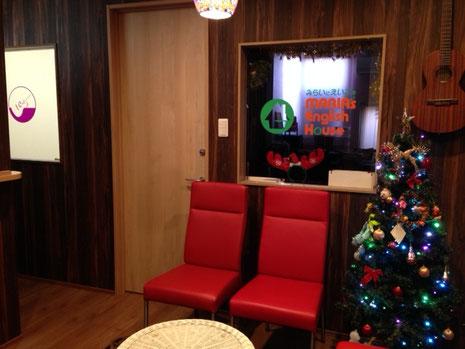 ICMFguitarstudio森充ギター教室の待合カフェ