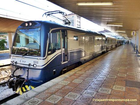 """Tren """"El Histórico"""" en Santander"""