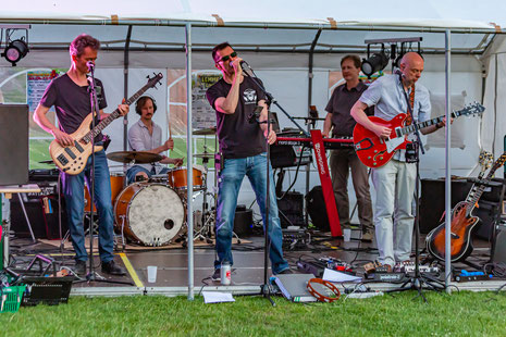 Liveband Hopers op Matadi in Leuven
