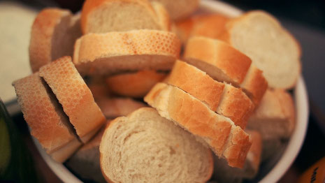 Brot aus Weizen.
