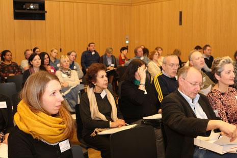 Teilnehmerinnen und Teilnehmer der Informationsveranstaltung für Lehrkräfte