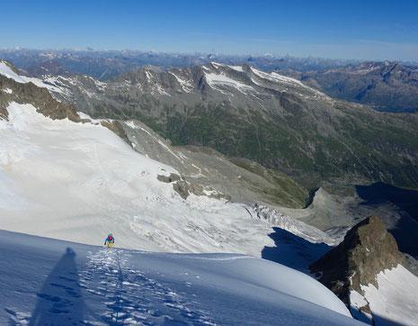Piz Scerscen, Eisnase, Piz Umur, Bergsteigen, Engadin, Pontresina, Roseg, Tschierva