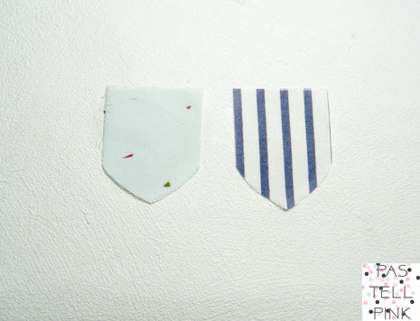 DIY Monogram Patch Aufnäher
