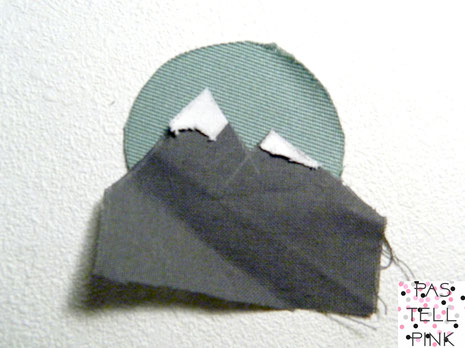 DIY Mountain Patch Aufnäher