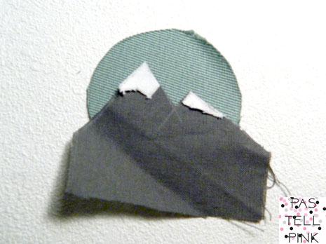 DIY Mountain Patch Aufnäher