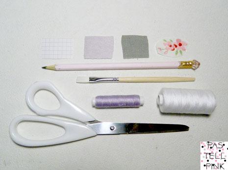 DIY patch Aufnäher Material