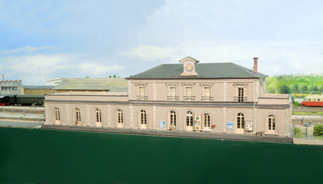 Gare de Vendôme au 1/87ème