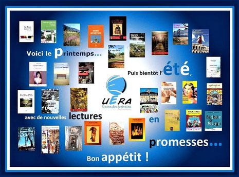 l'Union des Écrivains d'Auvergne-Rhône-Alpes réalise un set de table pour les restaurateurs en 2017 avec le livre Faribole et Mistigri !