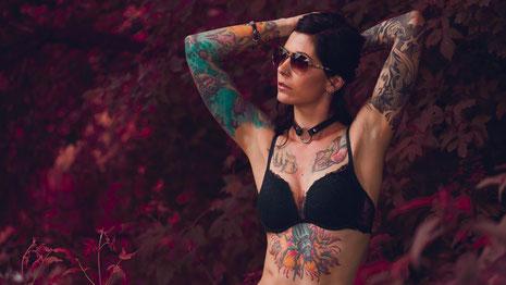 Tattoo Tätowierung Frau