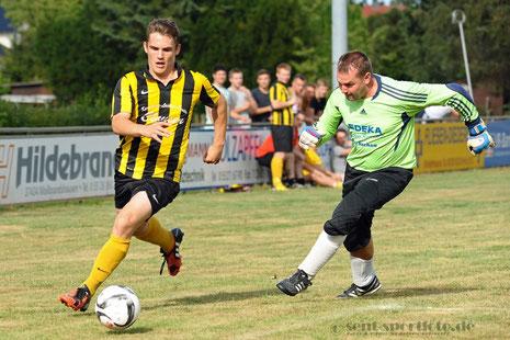 FC Höherberg (gelb/Schwarz) vs SSV Neuhof