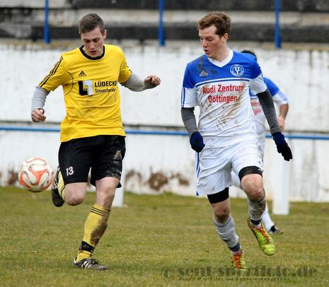 aus dem Spiel TSV Seulingen vs TSV Groß Schneen (gelb)