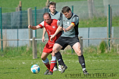 SV Bernshausen vs TSV Nesselröden (rot)