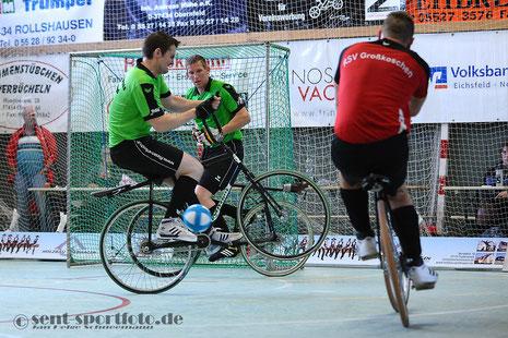 RV Stahlross Obernfeld I holt die Meisterschaft (grün)