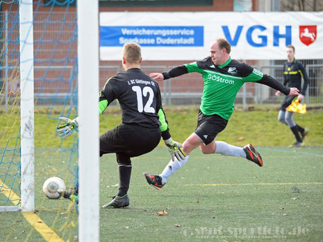 TSV Bremke/Ischenrode (grün) vs Göttingen 05 A-Jgd
