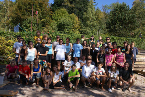 Photo de groupe journée aviron 02/10