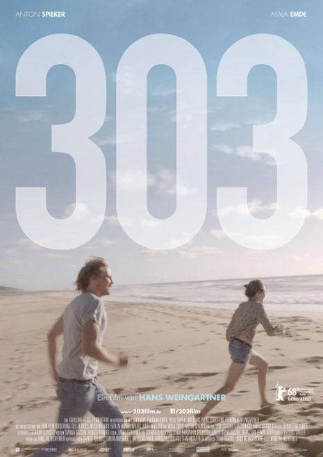 Plakat Film '303', Foto Teaser (c) B. Riedl