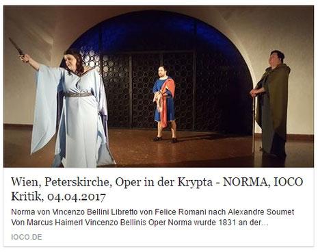 IOCO Kritik NORMA - Oper in der KRYPTA