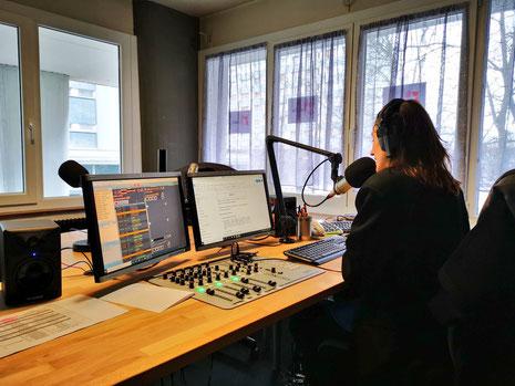 Studio Euradio Strasbourg
