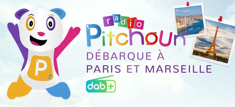 Radio Pitchoun, Radio Pitchoun en DAB+ à Paris et Marseille
