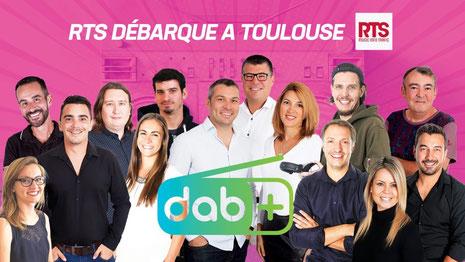 RTS, La radio du Sud, démarre en DAB+ à Toulouse