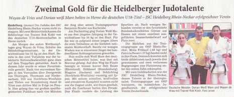 Rhein-Neckar-Zeitung, 15. März 2014