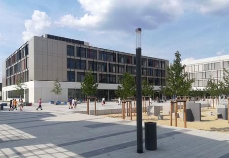 Architekturentwurf Schulstandort Dresden-Tolkewitz - ARGE Dresden-Tolkewitz, vertreten durch die Architektengemeinschaft Zimmermann Architekten