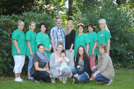 Mitarbeiter der Kinder- und Seniorentagespflege