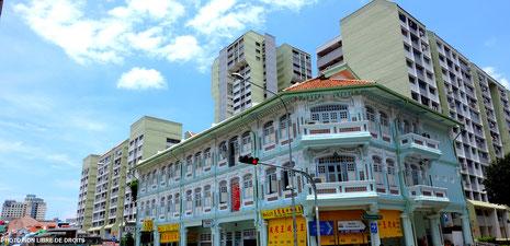 Singapour, la cité état, photo non libre de droits