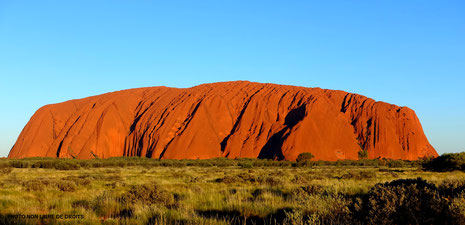 Uluru, Australie, photo non libre de droits