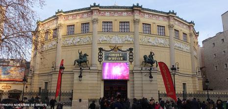 Cirque d'hiver Bouglione, Paris, photo non libre de droits