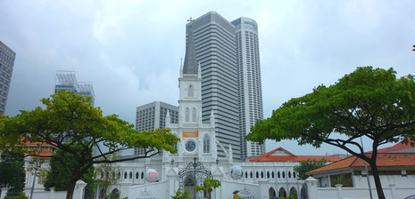 Urban vieuw, Singapour, photo non libre de droits