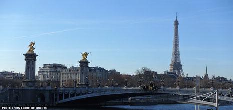 Vue parisienne, Paris, photo non libre de droits