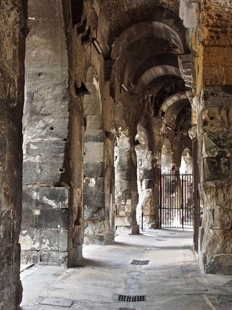 beeindruckend die antiken Ringmauern