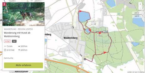 Waldsteinberg mit Steinbrüchen