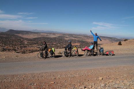 4 à vélo dans l'atlas