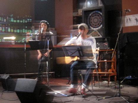 町田謙介&上奥麻衣子Live At E-Bar  9/15 21:00pm