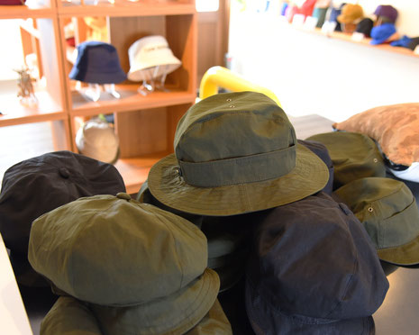 ブッシュクラフト 帽子