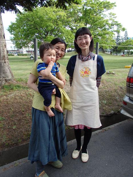 つぶつぶマザー・石井さんを弘前にお呼びできました!次の目標はSCENE1弘前!