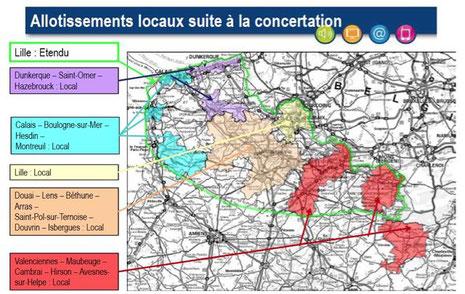 DAB+, multiplex locaux de Lille, Dunkerque, Calais, Lens-Douai et Valenciennes.