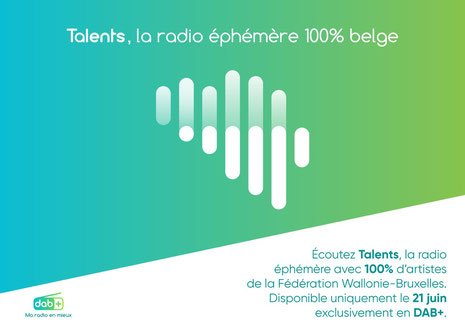 Talent, la radio éphémère 100% belge
