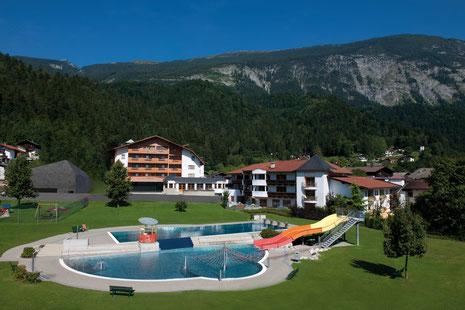 Aussenansicht Sommer, Foto: Hotel Schwarzbrunn