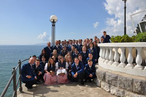 Jugendkapelle Staatz in Kroatien